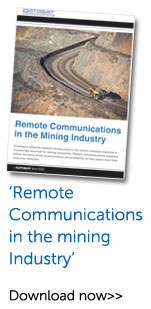 Exclusive Mine Site Communications White Paper from Datasat Communications