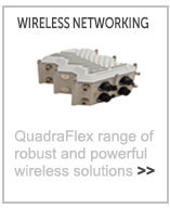 QuadraFlex wireless routers from Datasat Technologies