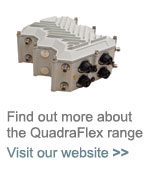 The QuadraFlex range of wireless networking solutions