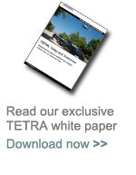 The TETRA communications white paper from Datasat Communications