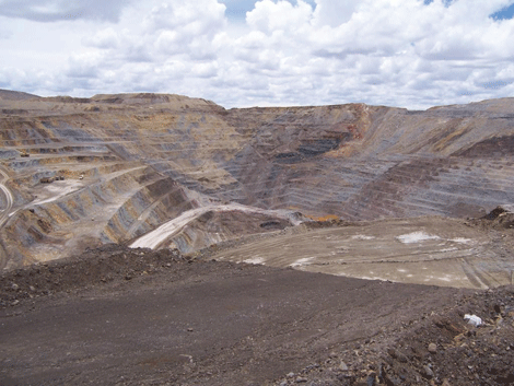 Mining communications for opencast operations